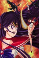 Sailor Mars: Soldier of fire by Dolly-M00N