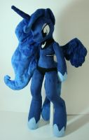 Princess Luna Anthro by Yukamina-Plushies