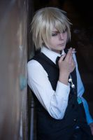 Shizuo Cosplay  Smoke in the dark by ShadowFox-Cosplay