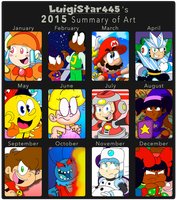 The Path of the '15 by LuigiStar445