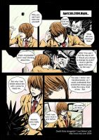 Live Notice-p4-death note by toiji