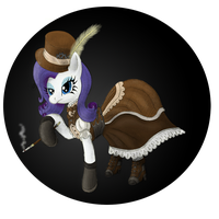 Rarity is unamused by The-Laughing-Horror