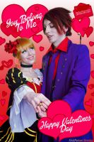Umineko Cosplay: Valentines Day: You Belong To Me by Redustrial-Ruin
