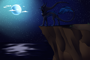 Cliffside by Dragon-Wolf-Lover