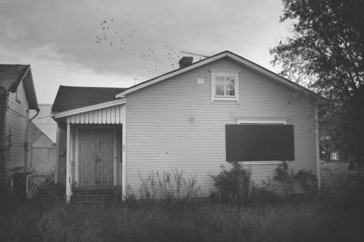 childhood home by JrFish