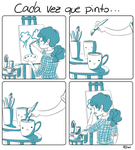 Every time I paint... by Eliwi