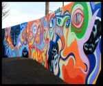 Tracey Avenue mural by KevinmcGloughlin