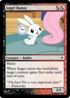 Angel Bunny by ManaSparks