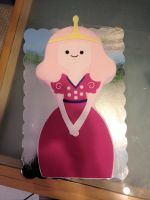 Young Princess Bubblegum Cake by stevoluvmunchkin