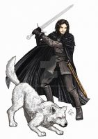 Jon Snow by Fandias