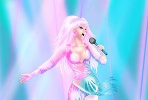 Jem from Jem and the Holograms by FlashColorist