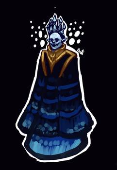 DESIGN - Demon Queen of the Icy Seas by MyelinSheath