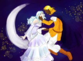 love of the moon and stars by chibipandora