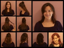 Faking Short Hair - Tonks by Durnesque