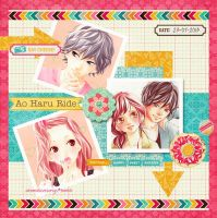 Ao Haru Ride scrap by akumaLoveSongs