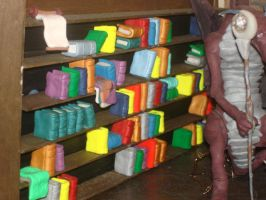 Diarama: The Library 4 of 6 by Rasiel-Draconis