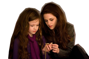 Bella y Renesmee png by ArzCullenEditions