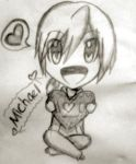 Happy Valentines day from Michael! by CrystalHanaHM2013