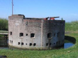 Dutch 19th fortress at Muiden 21-4-2007 by roodbaard1958