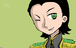 [Late] present - KatWolf- LOKI by Sophy-Chan77