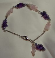 Love: Balanced + Pure Bracelet by UrsulaPatch