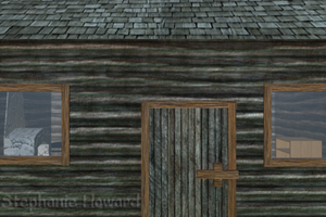 Log Cabin Exterior View 2 by StephanieHoward