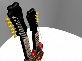 finished guitar 3 by ARHamilton