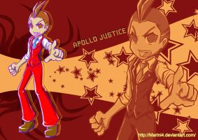 Apollo Justice Vector 1 by Marini4