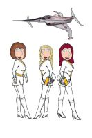Lois joins the Spectrum Angels by Radwulf59