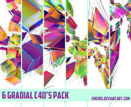 Gradial C4D Pack by emerio by emerio