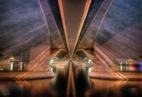 hdr - esplanade bridge by mayonzz