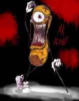 Demented Mr. Peanut by WaLLYtheRabid