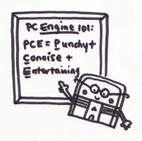 Professor PC Engine by thegaygamer