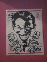 Joker Stickie by MissFord66