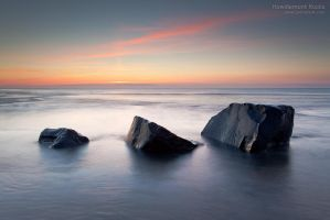 Howdiemont Rocks by jamesholephoto