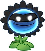 Plants vs. Zombies 2 IAT : Shadow Flower by Walter-20210
