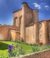 palais de berbie - albi - france by Louis-photos