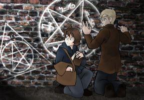SPN - Caught Red-handed by Ghostey