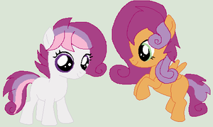 Gumdrop and Cinnamon - Official Debuts by Meadow-Leaf