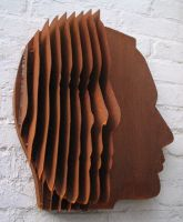 face sculpture 3 by grandmommy