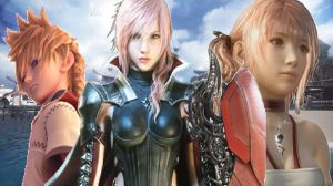 Roxas,Lightning and Serah Xiii by Hatredboy