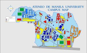 AdMU 2D Map Commission by jpaul