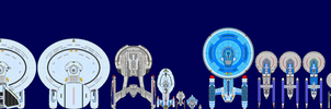 Star Trek Ships by captshade