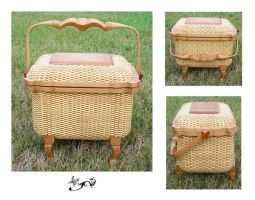 Nantucket Sewing Basket Test 2 by ButterflyDragon