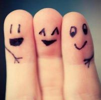 fingerFriends by Sythisra