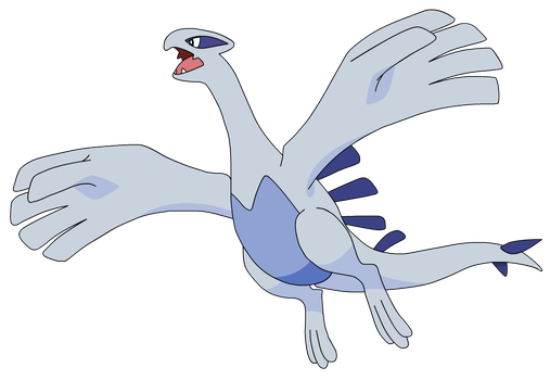 Beast Of Whirl Islands: Lugia by Cat333Pokemon
