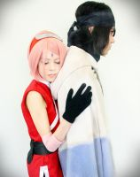 Sasuke Uchiha and Sakura Haruno (The Last) by GisaGrind