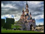 The Castle of The Sleeping Beauty by ArtClem