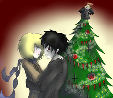 A different kind of X-mas tree by mittens10