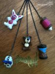 Babydoll's Gun Charms by RockerDragonfly